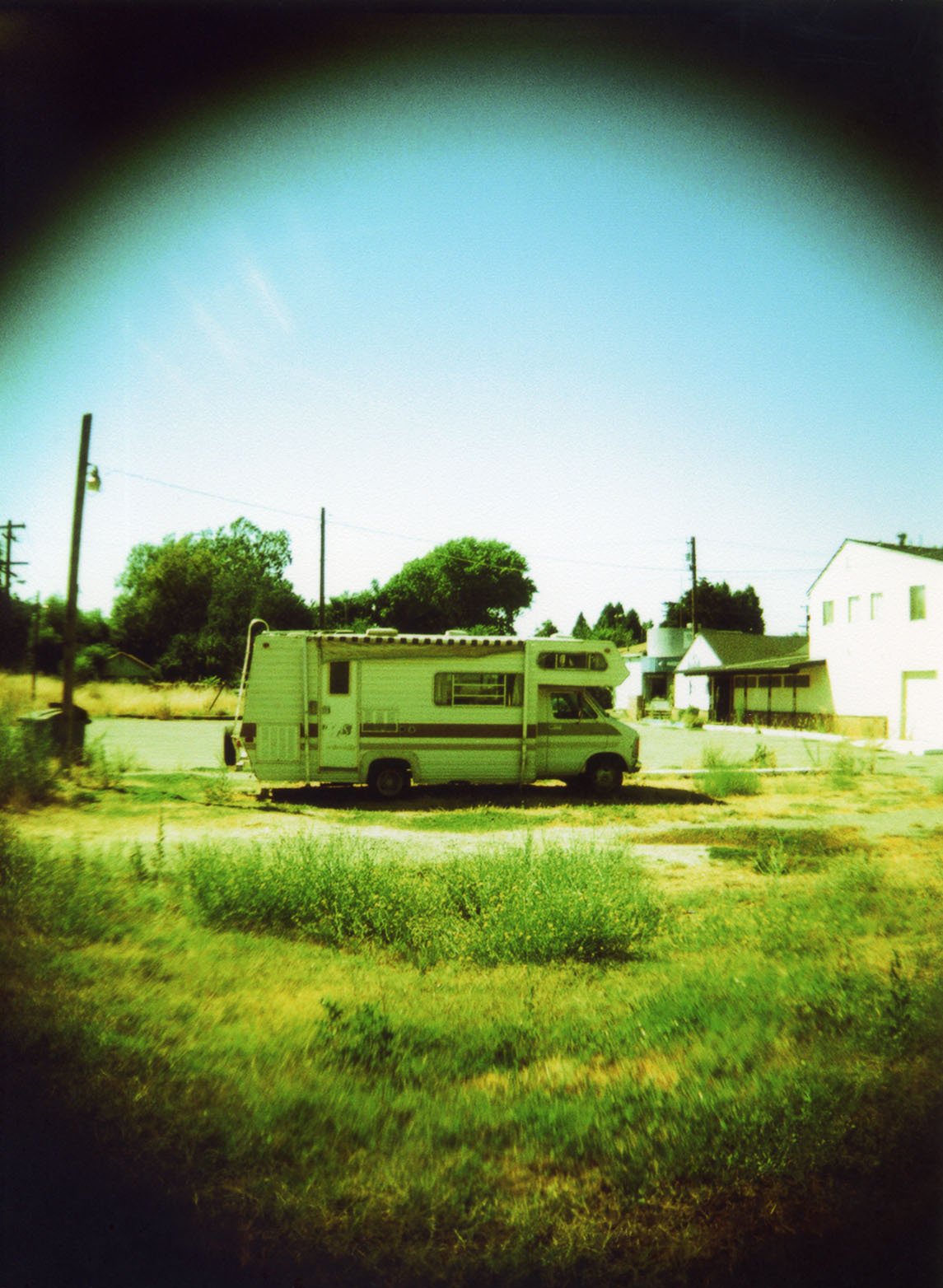 Holga 120N and cross processed.