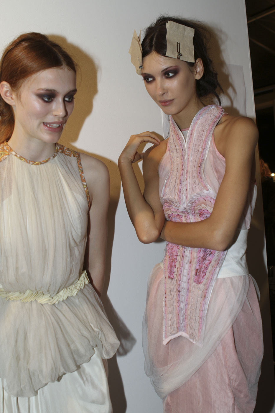 metamorphosis-style:  Bora Aksu london Spring 2012 lol her face!