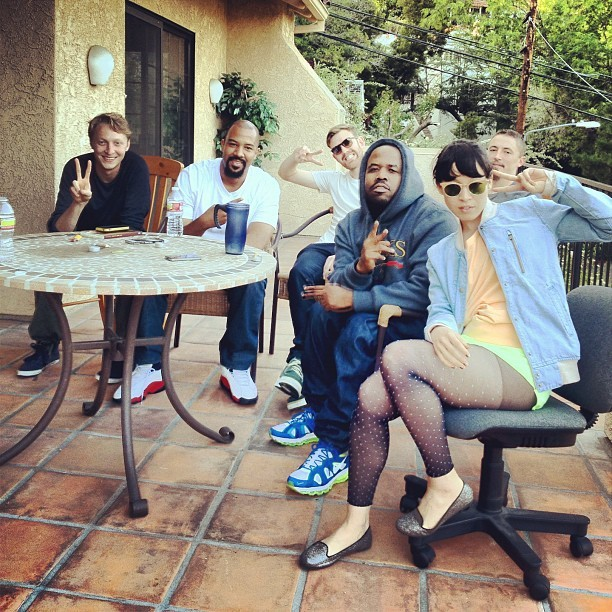 therealbigboi:  Hanging out with Little Dragon on a sunny California afternoon (Taken with instagram)  MY EARS ARE NOT READY FOR THIS
