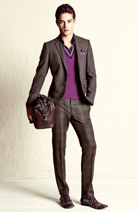 ohmyfrancisco:  Francisco Lachowski. Etro Lookbook A/W 2012-13.