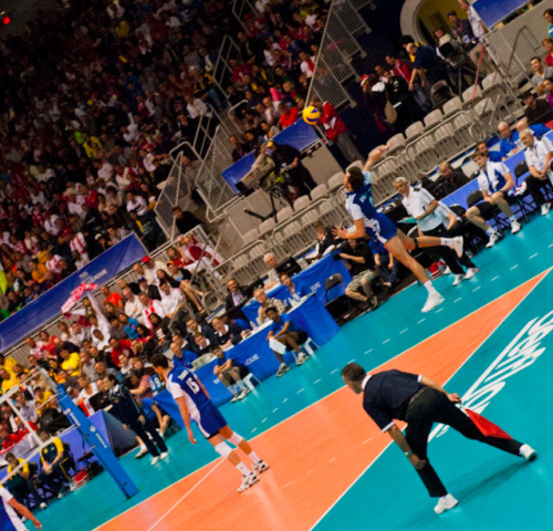 BRA vs POL - FIVB May 2012 Toronto, ON