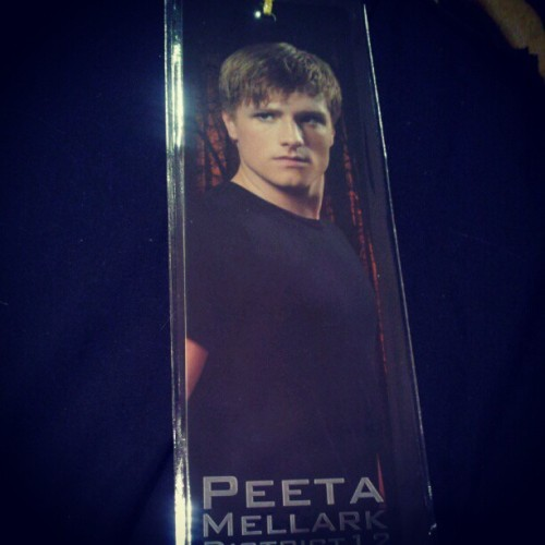 new book mark :) #joshhutcherson (Taken with instagram)