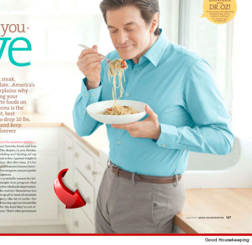What's up with your Noodle Dr. Oz?