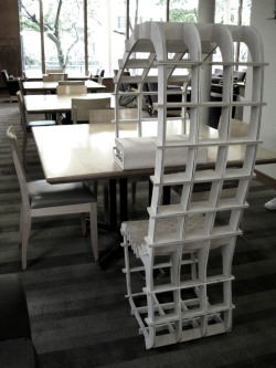 Neo-Carrel Quiet Pod designed for Lamont Cafe through Library Test Kitchen