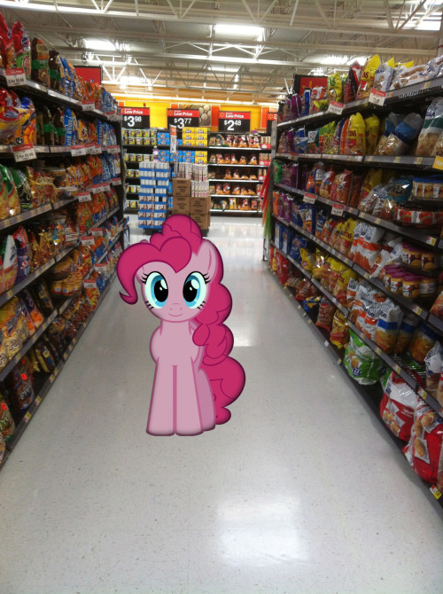 Of course, the snack aisle…