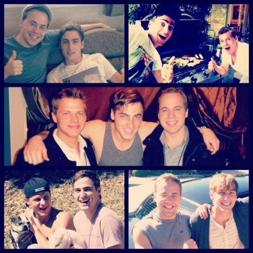 the three, the only, schmidt brothers <3