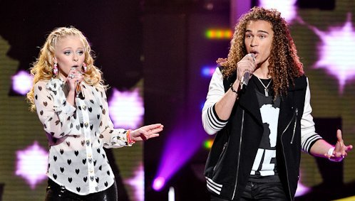 "MP3: Add ""DeAndre Brackensick & Hollie Cavanagh - I'm So Excited"" to your mp3 collection. Follow THIS LINK to watch the original video."