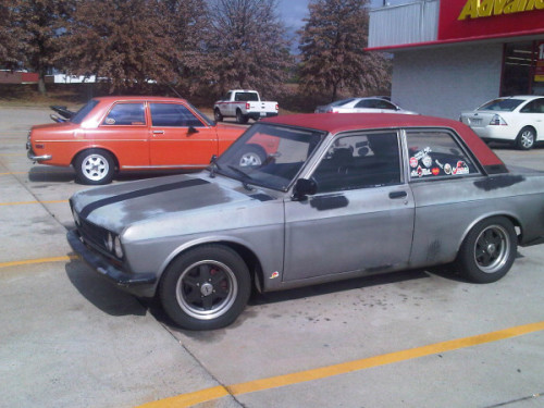 (via @KerrynowCampau , here's two Datsun 510s from Kennesaw, Ga. on Twitpic) Nice….