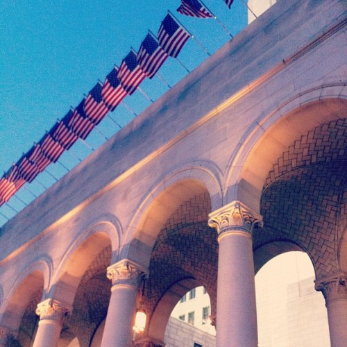 'Merica (Taken with Instagram at Los Angeles City Hall)