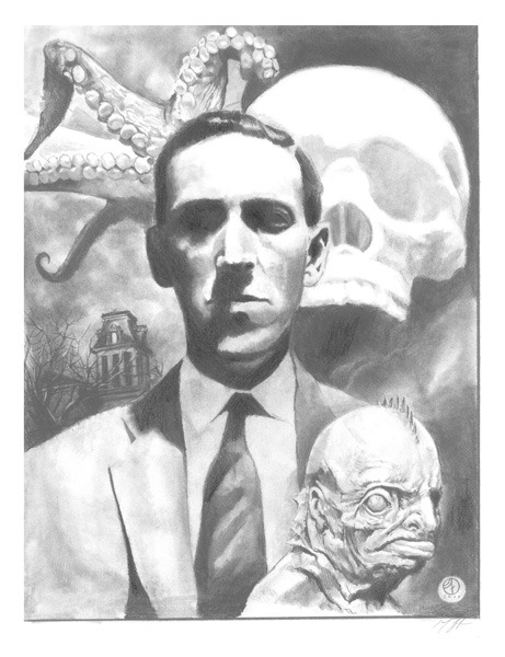 (via HP Lovecraft, in Jay Fife's Misc Art Comic Art Gallery Room)