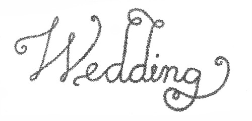 Day 96: Wedding. Pen sketch.