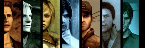 silent-hill-downpour:  The Silent Hill Protagonists