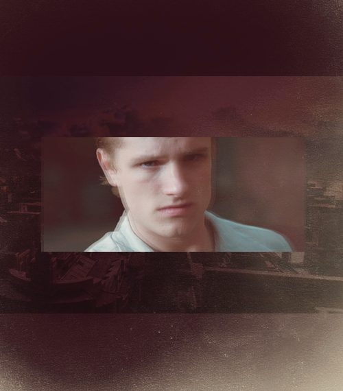 """There's a chance that the old Peeta, the one who loves you, is still inside. Trying to get back to you. Don't give up on him."""