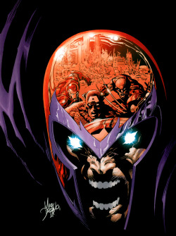 Artwork for cover of the New Avengers #20. June, 2006. Art by Mike Deodato.