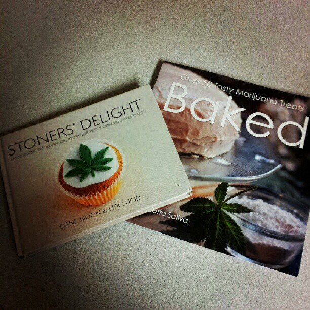 asholay:  our #stoner #215friendly #cookbook. yummmie #edibles :} ♡ (Taken with instagram)