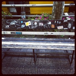 The chair in Shibuya-ku on the street. #swag#cool#chill#iphotography#iphonenisa#igers#idaily#iphotography#iphoneonly#iphoneonly  (Taken with instagram)