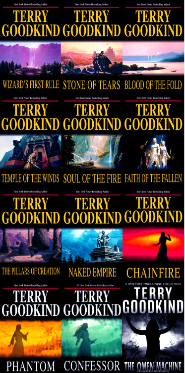 lastconfessor:  Sword of Truth - Terry Goodkind