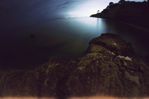 Long exposure photo i shot down at the beach the other night.