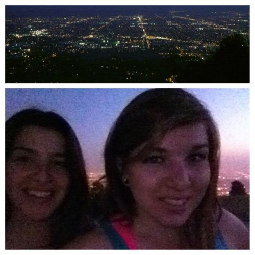 View from the top with @dr__drea  (Taken with Instagram at Garcia Trail)