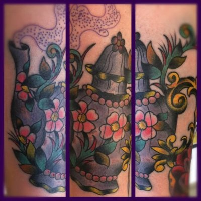 My teapot by Chris Partain in Albuquerque, NM