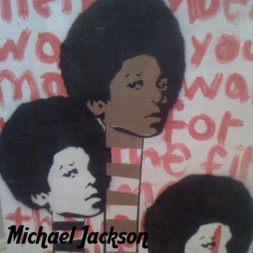 #textgram #michaeljackson #painting #popsinger #dancer #legend #kingofpop #thriller #cool #music #art  (Taken with instagram)
