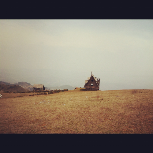 The house on the hill. Todos Santos, Guatemala.
