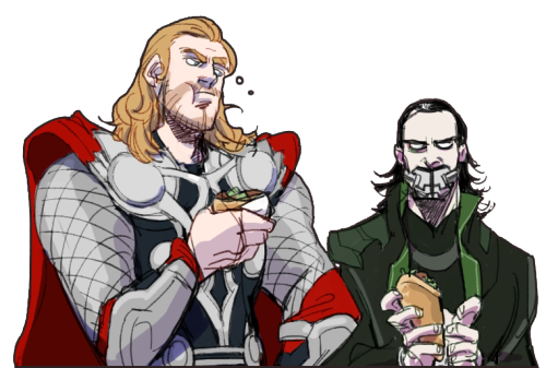 Asgardian bros