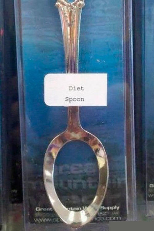 idontknowduckies:  diet spoon