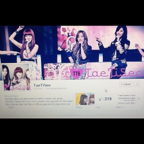 LIKE US ON FACEBOOK! #taetiseo #facebookpage #like (Taken with instagram)