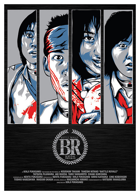 Battle Royale alternative movie poster design