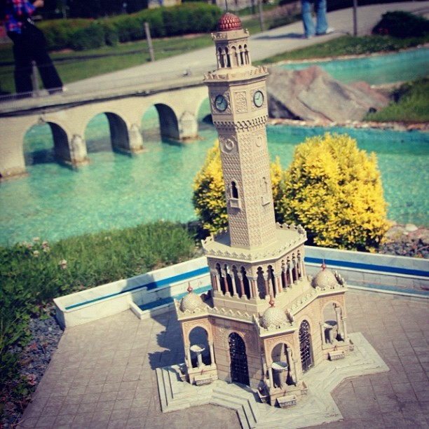 #Clock #Tower , #MiniaTurk #Istanbul , #Turkey  (Taken with instagram)