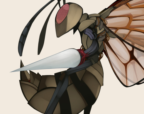 This Beedrill is dope