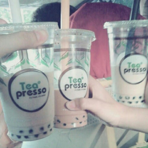 Tea Presso PTC #drink #yummy #delicious (Taken with instagram)