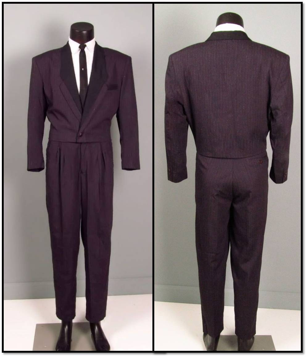 I bought my first plum suit yay