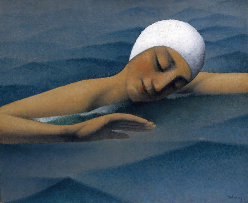 The Swimmer, Felix Elie Tobeen. French (1880 - 1938)