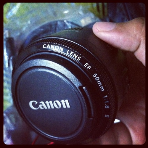 50mm Canon Lens #instagramhub #igersph #iphoneography #iphoneonly #iphonesia #instadaily #instagood #photooftheday #picoftheday #audreyisms #canon #50mm  (Taken with instagram)
