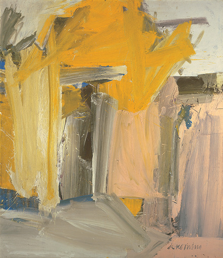 Willem de Kooning, Door to the River, 1960. Oil on canvas.