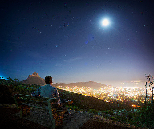 simplynorule:  Cape Town at Night (by Andy Reeves Photography)
