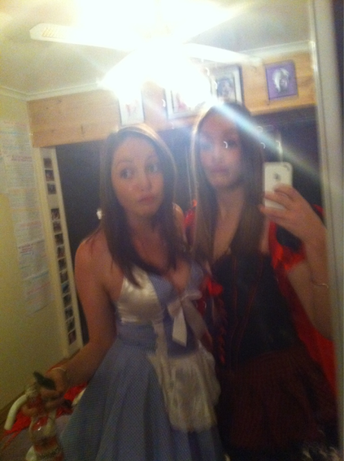 Little Bo peep and little red riding hood ;)