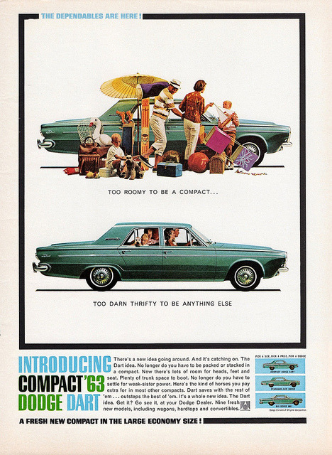 1963 Dodge Dart 270 4-Door Sedan by aldenjewell on Flickr.1963 Dodge Dart 270 4-Door Sedan
