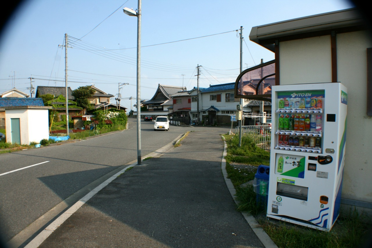 Vending Machine in Otsu (May 16, 2012)