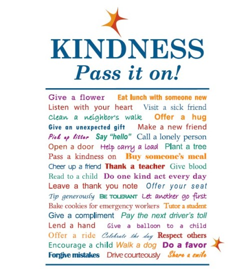 "10 Great Bible Verses About Kindness  Kindness Bible Verses: Being Kind to Friends  Proverbs 17:17 A friend loves at all times, and a brother is born for adversity.  John 15:13 Greater love has no one than this, that someone lay down his life for his friends.  Bible Verses on Kindness: Being Kind to Enemies  Luke 6:35 But love your enemies, and do good, and lend, expecting nothing in return, and your reward will be great, and you will be sons of the Most High, for he is kind to the ungrateful and the evil.  Proverbs 16:7 When a man's ways please the LORD, he makes even his enemies to be at peace with him.  Kindness Bible Scriptures: Forgiveness is a part of being kind  Ephesians 4:32 Be kind to one another, tenderhearted, forgiving one another, as God in Christ forgave you.  Numbers 14:19-20 Please pardon the iniquity of this people, according to the greatness of your steadfast love, just as you have forgiven this people, from Egypt until now.""   1 Corinthians 13:4-7 Love is patient and kind; love does not envy or boast; it is not arrogant or rude. It does not insist on its own way; it is not irritable or resentful;it does not rejoice at wrongdoing, but rejoices with the truth. Love bears all things, believes all things, hopes all things, endures all things.  1 Peter 4:8 Above all, keep loving one another earnestly, since love covers a multitude of sins.   Bible Scriptures on Kindness: God Calls Us To Be Kind to One Another Colossians 3:12 Put on then, as God's chosen ones, holy and beloved, compassionate hearts, kindness, humility, meekness, and patience, Kindness To Children In the Bible: Demonstrated in Jesus  Matthew 19:14 but Jesus said, ""Let the little children come to me and do not hinder them, for to such belongs the kingdom of heaven."""