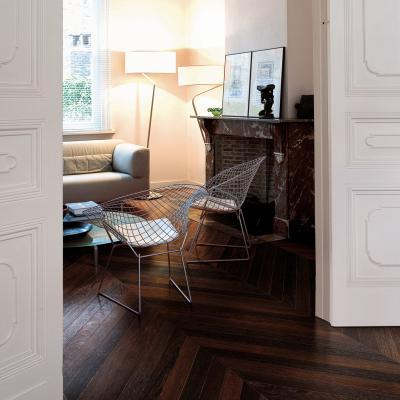 designtraveller:  walnut chevrone floors!