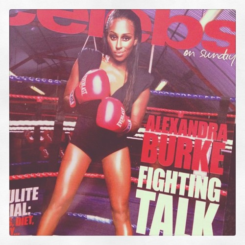 You got your copy? Out today! #CelebsOnSunday (Taken with instagram)