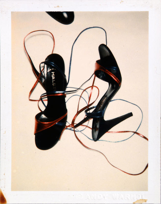 Polaroid by Andy Warhol