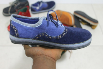 SoleRebels / Hand Crafted in Ethiopia / Blue