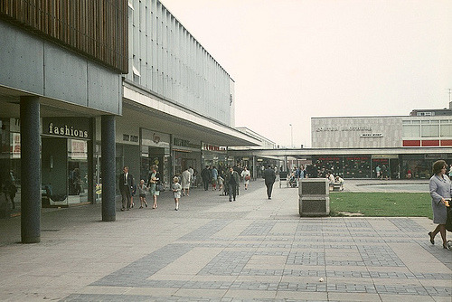 New Town Centre, Cwmbran  c. 1968