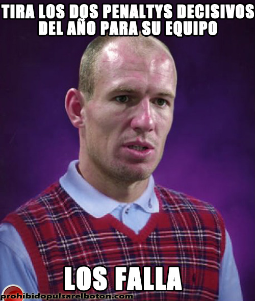 Bad Luck Robben
