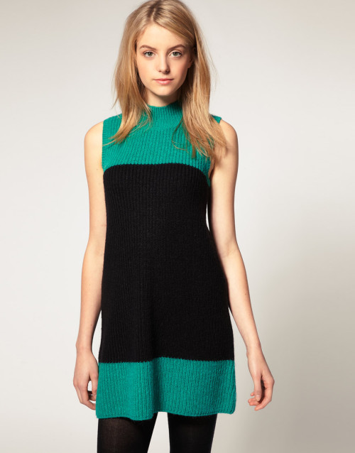 ASOS Knitted Sixties Shift DressMore photos & another fashion brands: bit.ly/JgPXRU