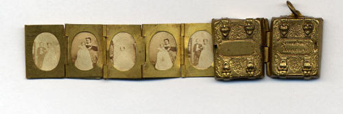 ca. 1863, [Miniature Wedding Album of General Tom Thumb and Lavinia Warren], Mathew B. Brady  via the Metropolitan Museum of Art, Photographs Collection